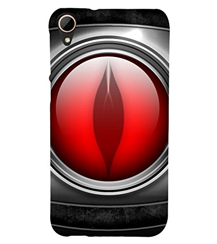 printtech Metal Eye Figure Back Case Cover for HTC Desire 828 dual sim