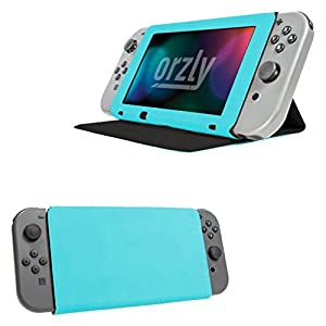 ORZLY®® – Multi-Fucntional Screen Cover Tablet Case with Bult in Stand for Nintendo Switch (Please Select Your Case Color Below…)