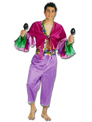 Imagen de disfraz de cubano morado adulto