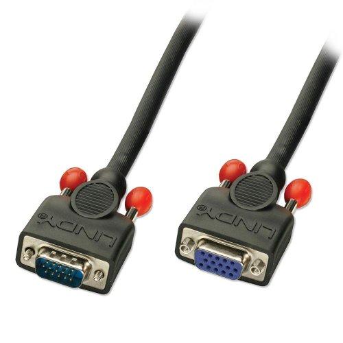 LINDY VGA-Verlängerungskabel (2m, Standardkabel für Monitore) (Mac Ps/2-verlängerungskabel)