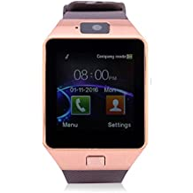 IKALL with SIM, 32 GB MEMORY CARD SLOT, BLUETOOTH and FITNESS TRACKER Smartwatch