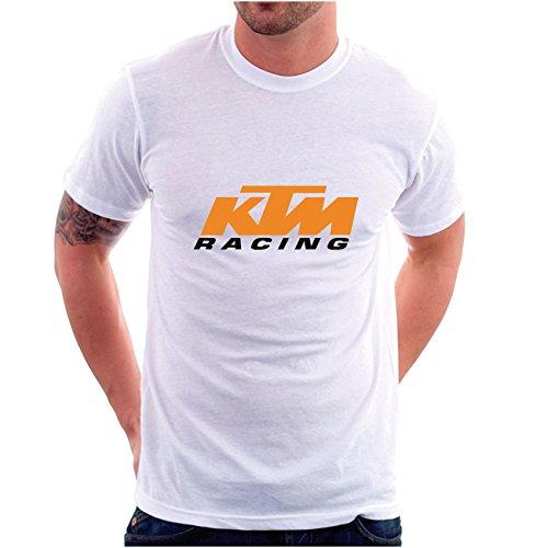 Factor RS Herren T-Shirt weiß Weiß Large Weiß