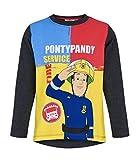 Sam el bombero Camiseta Mangas largas (104/4 años, Amarillo)