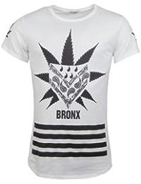T-Shirt - BRONX - weiß