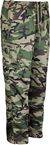 Mens-3-In-1-Trouser-Jogging-Bottom-To-Shorts-And-3-Quater-Converter-Army-Camo-Camouflage