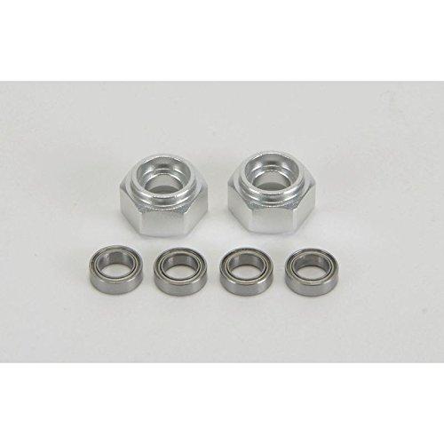 Carson 500530819 - DT03 Delante de Cubo de Rueda de Aluminio, 2 Piezas