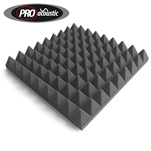 24x-afp305-pro-acoustic-foam-pyramid-tiles-studio-sound-treatment-223m2-24-ft2-per-pack