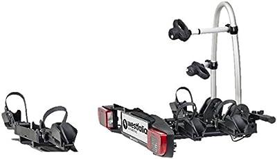 Fahrradträger BC 60 für die Anhängerkupplung   zusammenklappbarer Kupplungsträger für 2 Fahrräder   E-Bike geeignet   60 kg Zuladung
