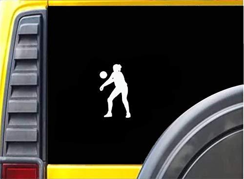 Autoaufkleber Interessante Beach-Volleyball-Spieler Dekor für Auto Auto Stoßstange Fenster Aufkleber Aufkleber Decals