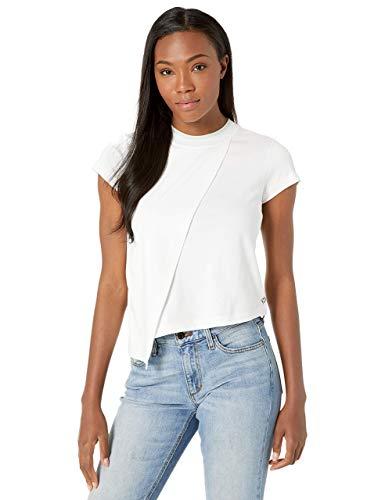 Layered Jersey-t-shirt (Satva Herren Organic Cotton Discovery Layered Tee White kurzärmelig, weiß, X-Large)