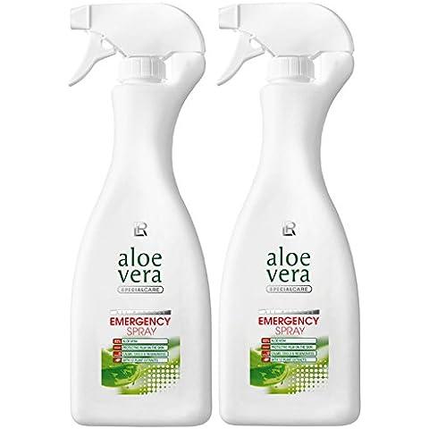 LR Aloe Vera Spray Emergency di emergenza Set 2x 500ml