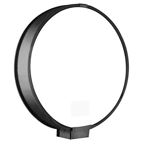 Monland 40 cm Runde Universelle Tragbare Geschwindigkeit Licht Softbox Flash Diffusor Auf-Top Soft Box Fuer Kamera (Schatten-boxen Verkauf Zum)