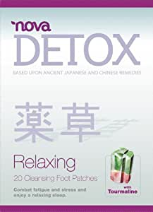 Detox-pieds par Nova Feet Detox Cleansing toxines Patches - 20