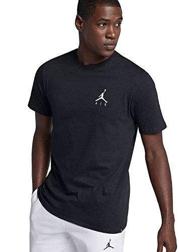 Weiße Jordan-t-shirt (Nike M JSW jmpmn Air EMBRD, T-Shirt Herren M schwarz / weiß)