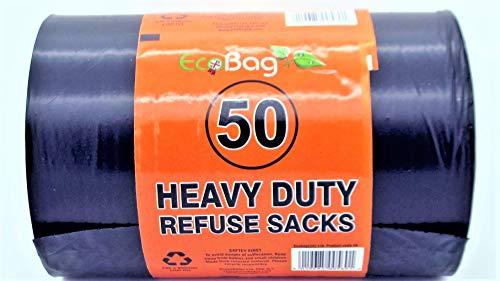 EcoBag -50 Eco bolsas basura resistentes 100 litros