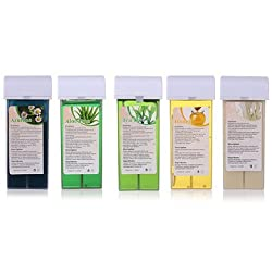 Generic Waxing Heater Kit Cartridge Depilatory Hair Removal Paraffin- Azulene