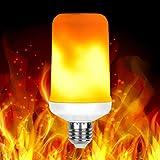 UYTSXFH LED Flamme Birne E27 Feuereffekt Licht Atmosphäre Lichter Zu Hause Verzieren Feuer Lampe für Party Bar Garten Size 6 * 13,5 cm (gelb) für UYTSXFH LED Flamme Birne E27 Feuereffekt Licht Atmosphäre Lichter Zu Hause Verzieren Feuer Lampe für Party Bar Garten Size 6 * 13,5 cm (gelb)