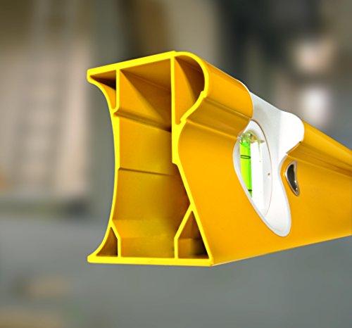 STABILA Wasserwaage Type R 300, 100 cm // Standfest, extrabreite Messfläche, Anreißkante, umschlagsfähig