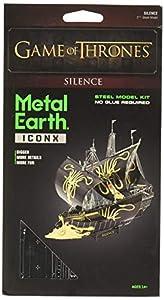Professor PUZZLE Juego de Tronos Metal Tierra, Greyjoy Ship Silence