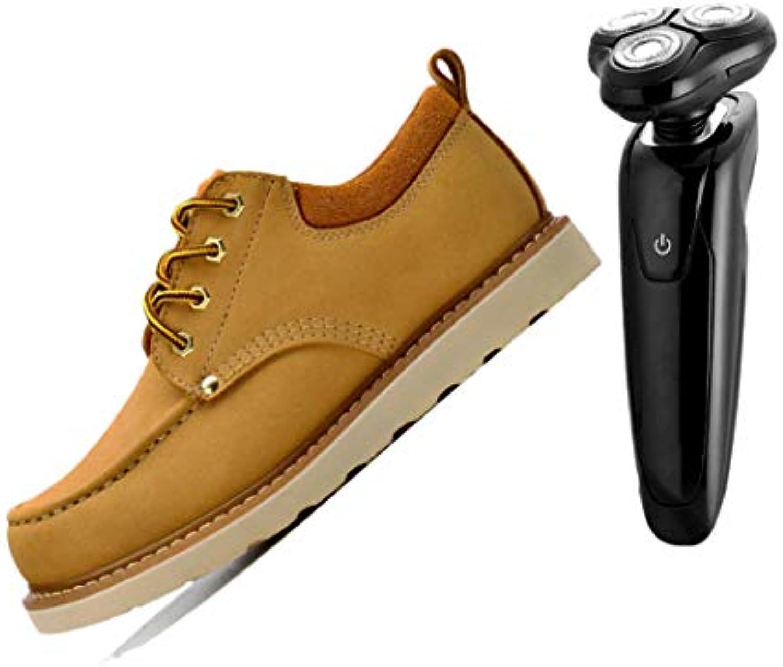 Scarpe Stringate da Uomo per Esterno Piatte Traspiranti Semplici Casual Gialle Marronei Arancioni | Alla Moda  | Uomini/Donna Scarpa