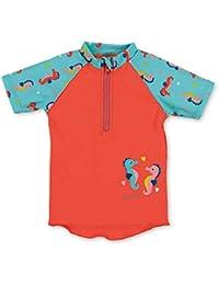 Sterntaler Kurzarm-schwimmshirt, Camiseta de natación Bebé-para Niñas