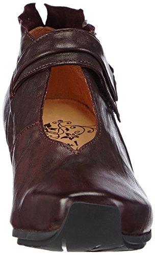 Think!ANA Pumps - Stivali classici imbottiti a gamba corta donna Rosso (Rot (CHIANTI 34))