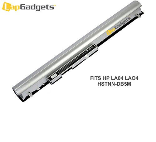 Lap Gadgets Laptop Battery For HP Pavilion 15-N207TU 4 cell PN: LA04 LAO4 728460-001 752237-001 HSTNN-DB5M HSTNN-IB6R HSTNN-UB5M