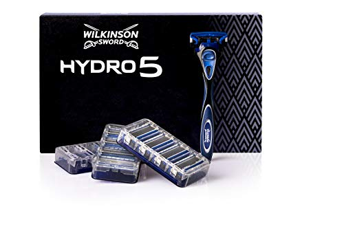 Wilkinson Sword Ffp ECO box Pack Hydro 5 - Kit de afeitado manual con maquinilla de...