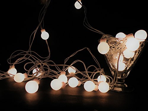 Glimmer Lightings Made In India Elegant Small Ball String Lights Diwali Special...