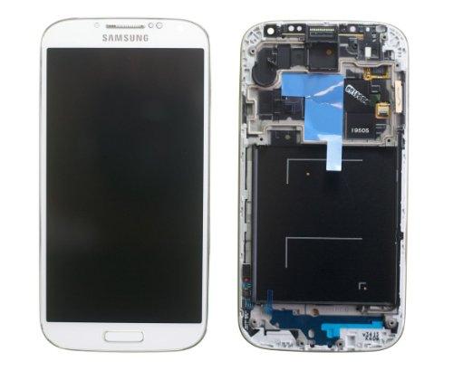 Samsung GH97-14655A - Display originale completo (display LCD + touchscreen) per Samsung Galaxy S4 I9505, non compatibile con i9500, colore: Bianco