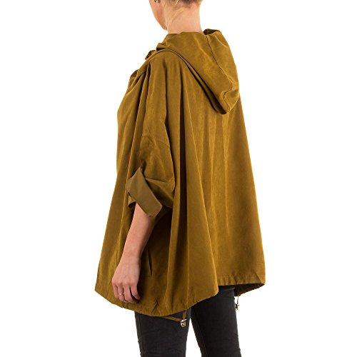 Ital-Design - Blouson - Femme Marron Clair