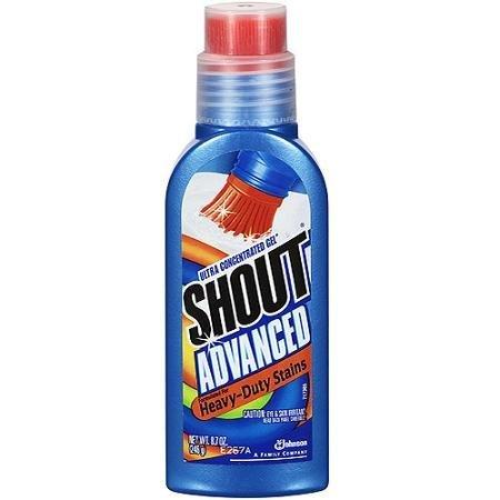 Shout Advanced Gel, 1 bottle, 8.7 fl oz by Shout