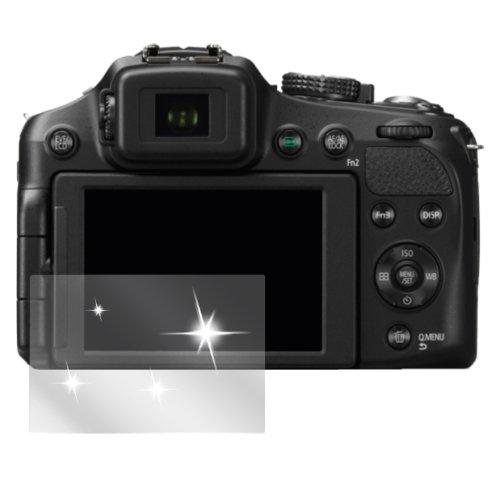 dipos I 6X Schutzfolie klar kompatibel mit Panasonic Lumix FZ200 Folie Displayschutzfolie