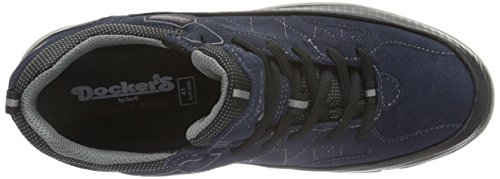 Dockers by Gerli 39fa002-210670, Chaussures de Trekking et Randonn&EacuteE Homme Bleu - Blau (dunkelblau 670)