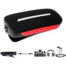 Avantree Ricevitore Bluetooth per Cuffie, Adattatore Audio da 3.5mm Senza Fili, per Auricolari/Cuffiette con Filo, per Trasformarli in Senza filo, con Microfono per Chiamate – Clipper