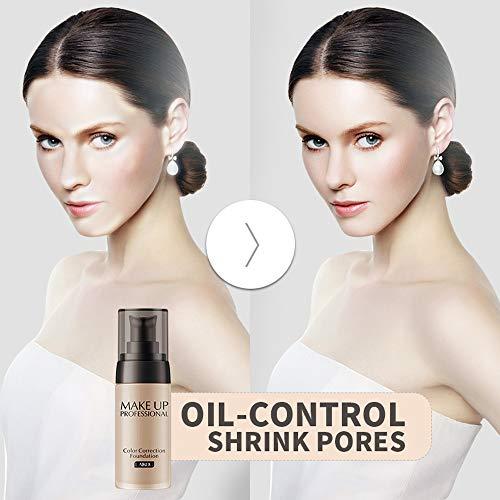 Concealer Highlight & Contour Pen Stick,Flüssige Foundation Gesichtsfarbe Wasserdichte Concealer-Make-up-Basis,Beige - Concealer-ivory-maybelline-cover Stick