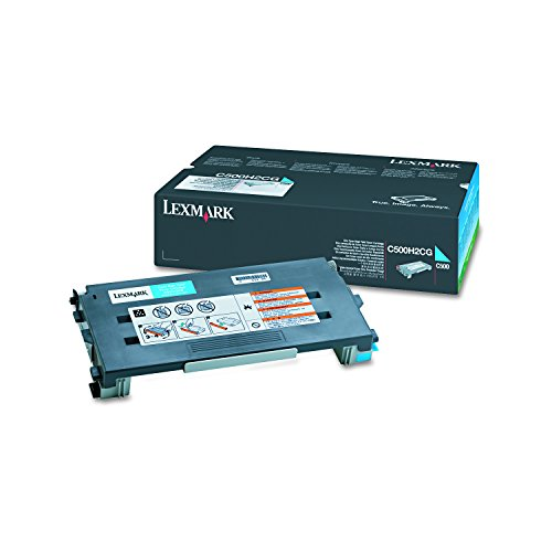 Preisvergleich Produktbild Lexmark C500H2CG C500n Tonerkartusche Höhekapazität 3.000 Seiten, cyan