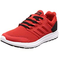 timeless design 77cd4 85d37 adidas Galaxy 4, Scarpe da Running Uomo, Rosso Active Red Core Black,