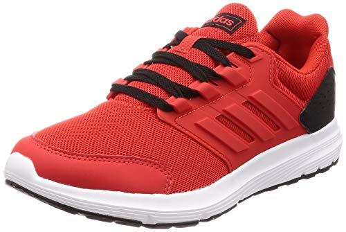 adidas Galaxy 4, Scarpe da Running Uomo, Rosso Active Red/Core Black, 45 EU