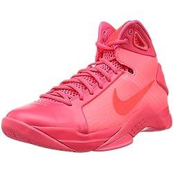 Nike Hyperdunk '08, Zapatillas de Baloncesto para Hombre, Rojo (Solar Red / Solar Red-Solar Red), 42 EU