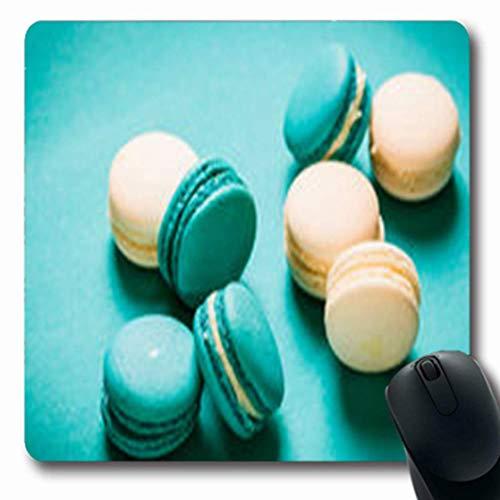 Mousepads Sommer frisch Macaroonsvintage Filter Französisch Mandel Essen Trinken Frankreich Oblong Gaming Mouse Pad rutschfeste Gummimatte