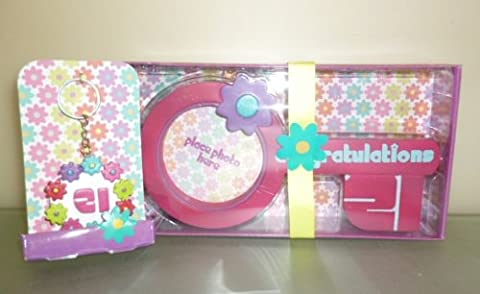 21st Birthday Girls Gift Set - Key Photo Frame And