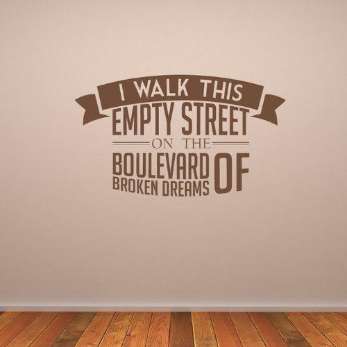 green-day-wall-sticker-boulevard-of-broken-dreams-adesivo-art-disponibile-in-5-dimensioni-e-25-color