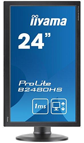 iiyama B2480HS B2 24 ProLite Height versatile HD LED Monitor Black Products