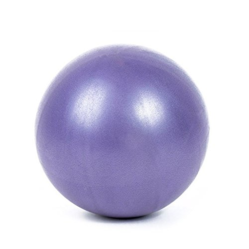 OPUSS 25cm Mini Fitness Balance Yoga Ball Fitness Pilates Ball Innen Slimming Training ball-3Farben [Yoga Bälle], violett, Normal