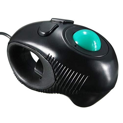 HM2 Tragbare Maus Finger Handhold Maus USB Mini Trackball Mouse Mice Thumb Control PC Computer Maus -