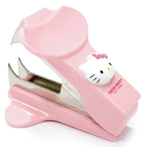 Hello Kitty Staple Remover Pink Kid Cute Baby Girl Gift Stapler Desk Office Teen by Hello - Teen Kitty Hello