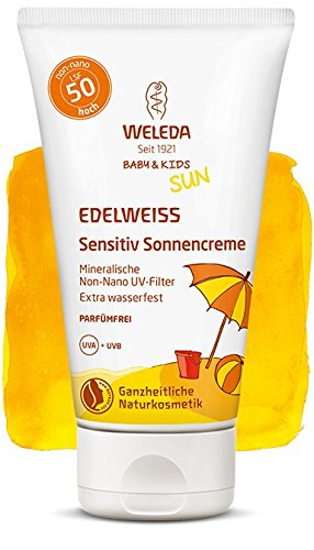 Weleda Edelweiss Sensitiv Sonnencreme LSF 50, 50ml