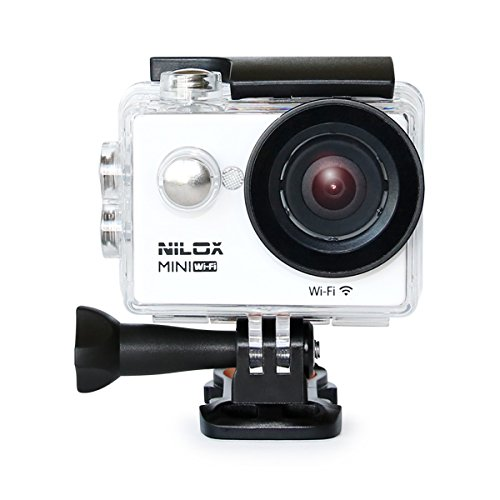 Nilox Mini Action Cam Wi-Fi, Full HD, Bianco