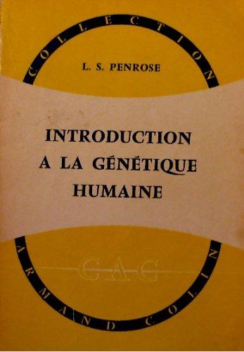 Introduction a la genetique humaine